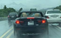 """Đi BMW mui trần sang chảnh, tài xế rơi vào cảnh """"khóc dở mếu dở"""" khiến cả đường ngoái nhìn"""