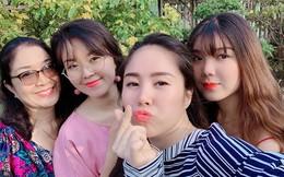 Lộ diện 2 cô em gái giống diễn viên Lê Phương như đúc: Cô ba là MC truyền hình, cô út học giỏi đỗ 4 trường đại học