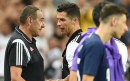 HLV Juventus lên tiếng về vụ cãi vã với Ronaldo