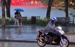 Dự báo thời tiết hôm nay: Hà Nội có thể có mưa rào và dông