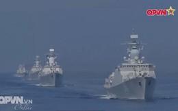 Tàu 016-Quang Trung thăm xã giao Liên bang Nga