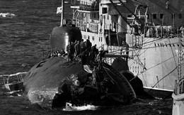 Tàu ngầm Liên Xô từng đụng độ tàu sân bay Mỹ trên biển Nhật Bản