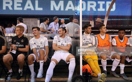 Gareth Bale cười tươi trong ngày Real Madrid bị Atletico ghi đến 7 bàn