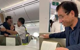 """Đại gia bất động sản """"sờ vào vai rồi lần xuống phía sườn"""" của nữ hành khách trên máy bay Vietnam Airlines"""