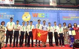 Học sinh cấp 2 Việt Nam giành 2 huy chương vàng về phát minh, sáng chế
