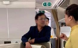 Xử phạt khách thương gia bị tố sàm sỡ nữ hành khách trên máy bay 10 triệu đồng