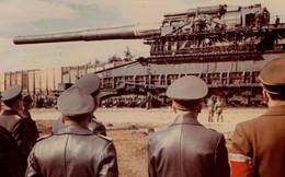 Ảnh tư liệu về khẩu súng lớn nhất thế giới Gustav của Đức Quốc xã