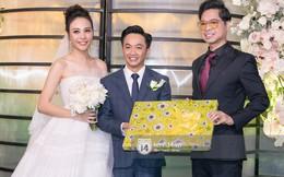 Dàn sao Việt đổ bộ đám cưới Đàm Thu Trang và Cường Đô La