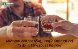 BS Trần Văn Phúc: Đây là công thức ước tính sau uống rượu bao lâu thì an toàn để lái xe