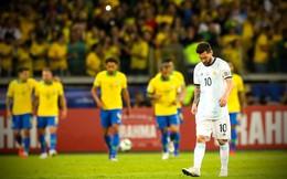 Gục ngã dưới chân Brazil, Argentina cúi đầu rời Copa America