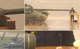 """Video: Kinh ngạc với khả năng """"không ai ngờ tới"""" của xe tăng T-80 Nga"""