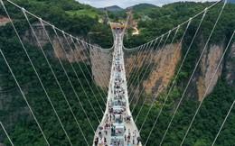 24h qua ảnh: Du khách chiêm ngưỡng cầu đi bộ cao nhất thế giới