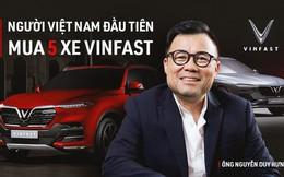 Đại gia chứng khoán khen VinFast Lux SA2.0 'hơn cả một chiếc xe'