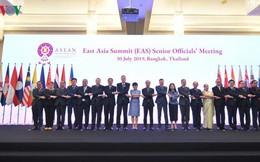 Họp trù bị cho Hội nghị Bộ trưởng Ngoại giao ASEAN+3 và EAS