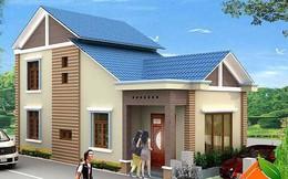 Mẫu nhà cấp 4 gác lửng mái Thái đẹp miễn chê chỉ 200 - 300 triệu đồng
