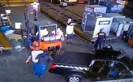 Brazil bắt nghi phạm vụ cướp hơn 7 tạ vàng trong 3 phút ở sân bay
