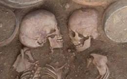 Phát hiện ngôi mộ của cặp đôi Romeo và Juliet cổ đại người Kazakhstan