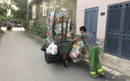 """Vụ chặn xe chở rác vào bãi rác Nam Sơn: """"Không dọn thì dân mắng chửi"""""""