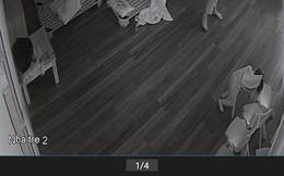 Quan sát camera, mẹ sốc nặng khi thấy con gái đại tiện ra quần nhưng cô giáo vẫn ung dung xem điện thoại