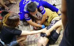 Nữ tài xế lái xe Mercedes đâm hàng loạt xe máy ở Sài Gòn, nhiều người nhập viện cấp cứu