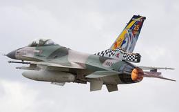 Chiến đấu cơ F-16 bay trên bầu trời Venezuela trong ngày quốc khánh