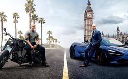 """Cận cảnh dàn siêu xe """"lừng lẫy"""" trong bom tấn Fast & Furious: Hobbs & Shaw"""