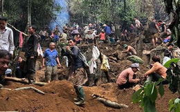 Lãnh đạo huyện Lục Yên khẳng định người dân đào đá quý bán được tiền tỷ là có thật