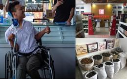 Anh chàng khuyết tật dùng lưỡi để làm thương mại điện tử, liếm chọc nhoay nhoáy trên màn hình smartphone
