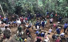 Xác minh đối tượng tung tin đồn khiến ngàn người kéo lên núi đào đá quý