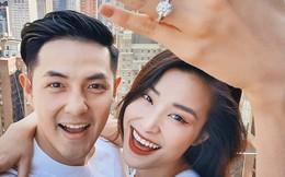 Đông Nhi hạnh phúc, khoe nhẫn cầu hôn của Ông Cao Thắng