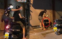 3 giờ sáng, hành động của hai thanh niên trên phố khiến nhiều người chú ý