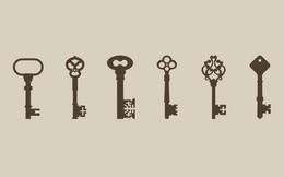 """Chọn một chiếc chìa khóa bạn thấy thích nhất để """"mở cửa"""" trái tim mình"""