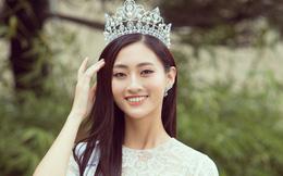 Hoa hậu Lương Thùy Linh nói gì về mẹ ruột là giám đốc kho bạc tỉnh Cao Bằng?
