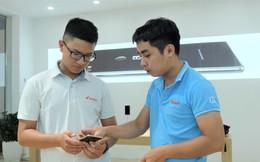 Bên trong tổ hợp dịch vụ khách hàng Bphone Store vừa ra mắt ở Hà Nội