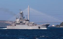 Tàu đổ bộ Nga vận chuyển số lượng lớn xe tăng, xe bọc thép tới Syria