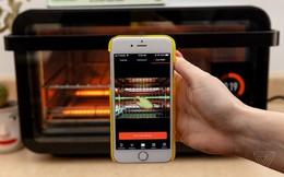 Lò nướng thông minh tự động bật lúc nửa đêm, tăng nhiệt độ đến 400 độ C
