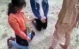 Một thiếu nữ đánh chửi 3 nữ sinh do mâu thuẫn trên mạng xã hội