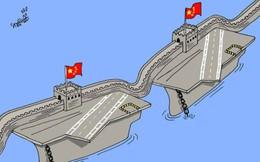 """Tham vọng trở thành """"Siêu cường"""" của Trung Quốc:  Cần bao nhiêu tàu sân bay?"""