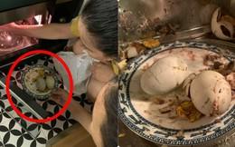 Để trứng vịt lộn vào lò vi sóng, cô gái nhận hậu quả không mấy dễ chịu