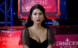 Người mẫu nóng bỏng Hải Yến bị cắt cảnh hôn trên sóng truyền hình?
