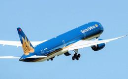 """""""Siêu máy bay"""" Boeing 787-10 lớn nhất Việt Nam bay chuyến thương mại đầu tiên"""
