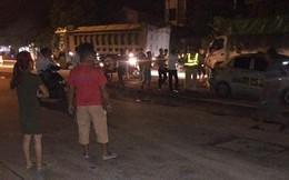Chạy tốc độ cao, nhóm thanh niên đi ô tô có biểu hiện say rượu tấn công CSGT ở Hà Nội