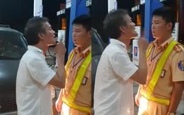 Tài xế biển xanh say xỉn, tát CSGT bị phạt 2,5 triệu đồng