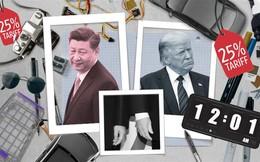 """CNBC: 75 tỉ USD hàng hóa bị TQ cho """"lên thớt"""", ông Trump liền giáng cấp ông Tập từ bạn thành thù - Điềm rất xấu?"""