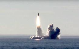 Nga thử thành công tên lửa đạn đạo Bulava và Sineva từ tàu ngầm hạt nhân