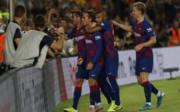 Griezmann cứa lòng không tưởng, Barcelona đại thắng dù vắng Messi-Suarez
