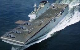 Bị chỉ trích dữ dội, TQ vẫn nhăm nhe đe dọa tự do hàng hải với 3 tàu đổ bộ và 30.000 quân?