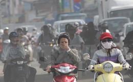 Cảnh báo chất lượng không khí rất xấu, Hà Nội mù mịt như sương phủ