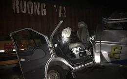 Xe khách húc đuôi container trong đêm tại Hưng Yên, 16 người bị thương
