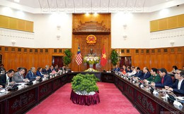 Thủ tướng Việt Nam và Malaysia chia sẻ quan ngại về Biển Đông
